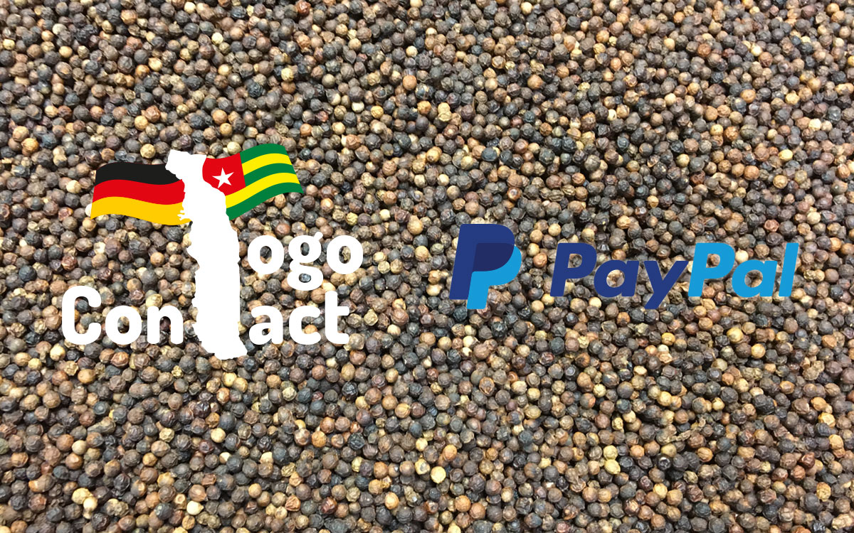 Jetzt im Togo-Shop unkompliziert mit PayPal bezahlen