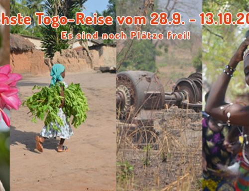 Programm für die Togo-Reise im Herbst steht