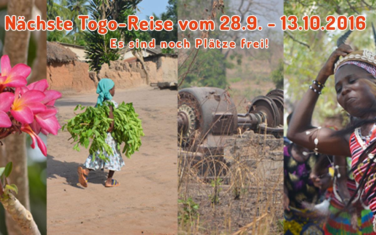 Togo-Reise - Oktober 2016