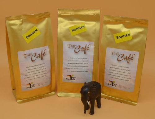 Kaffee aus Togo als Bohnen