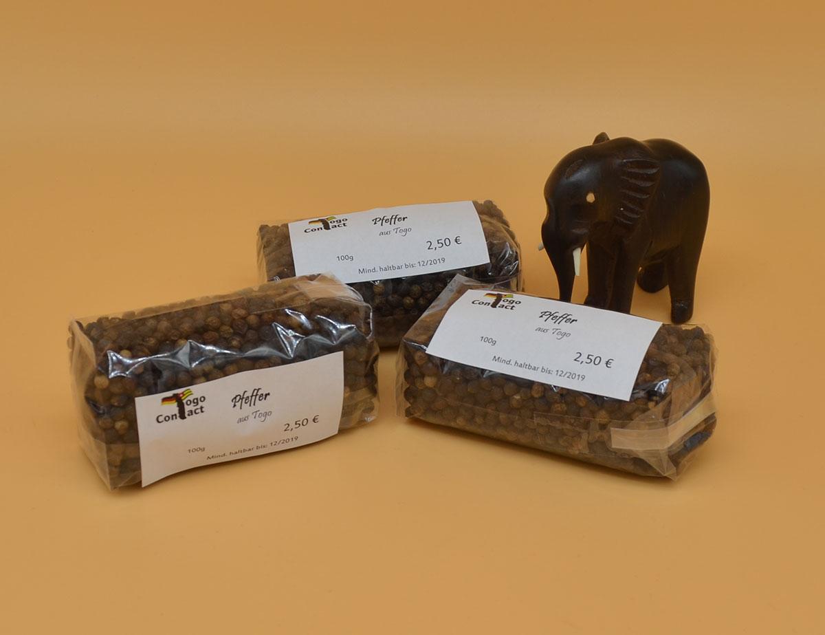 Echten afrikanischen Pfeffer aus Togo bestellen