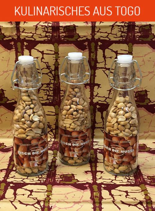 erdnüsse in flasche