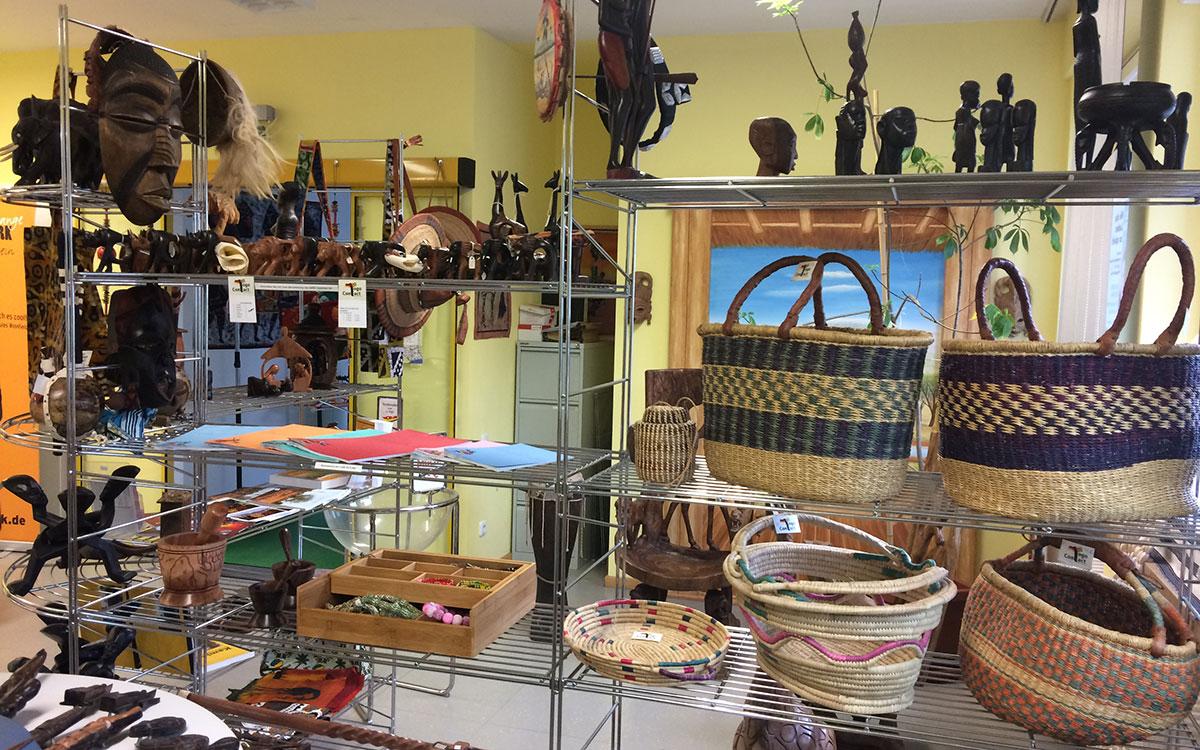 Unser Laden im Togo-Haus in Maisach