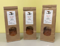 Pili-Pili-Piment aus Togo in unseren geschützten Verpackungen.