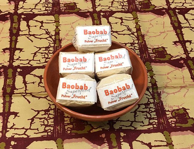 Baobab-Pulver aus den Früchten