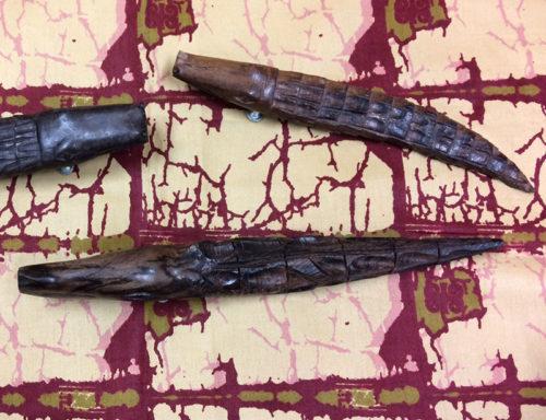 Flaschenöffner Krokodil - Detail