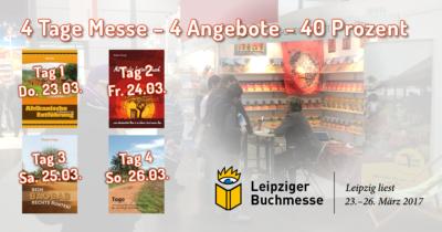 Angebote zur Leipziger Buchmesse 2017
