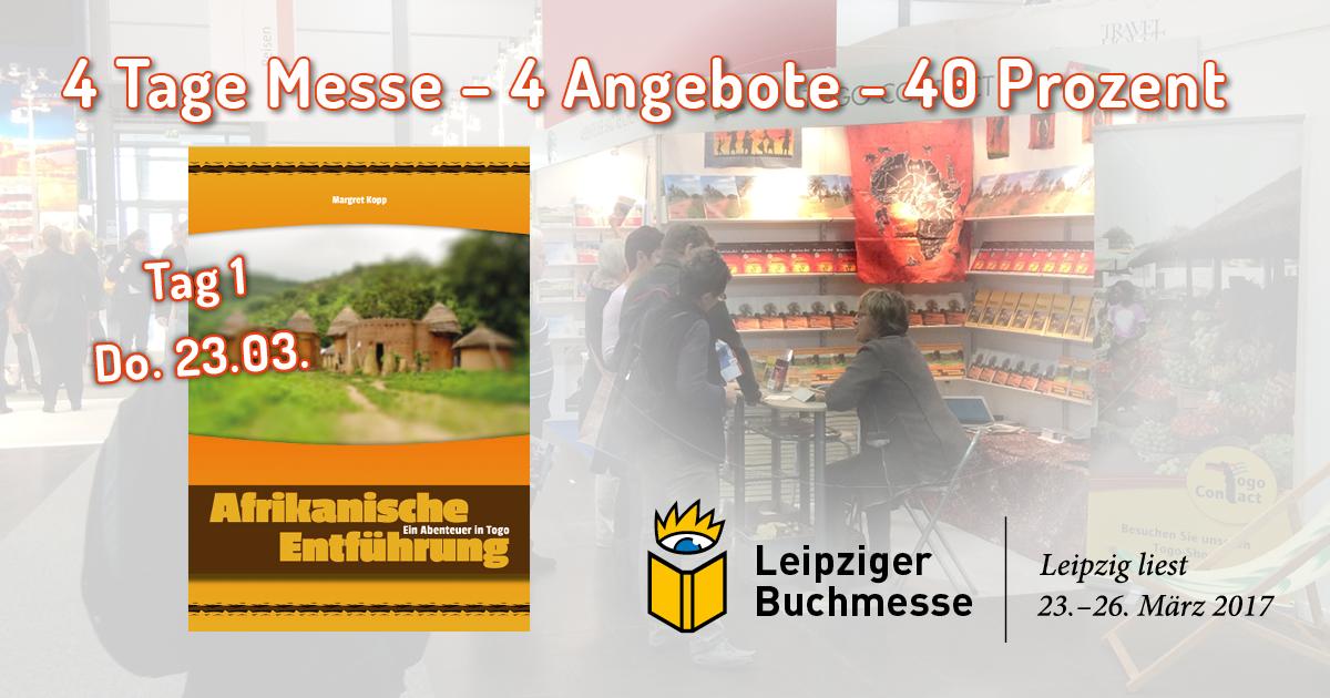 Tag 1 - Angebot 1 zur Leipziger Buchmesse 2017
