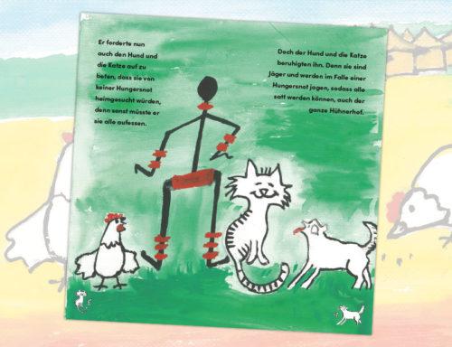 Innenseiten des Afrika-Märchens aus Togo