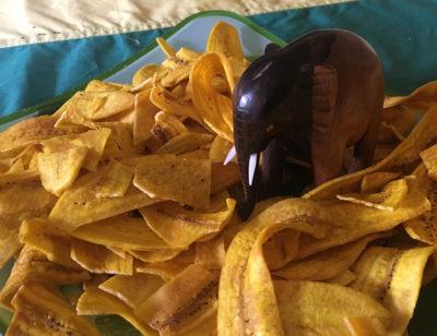 Bananen Chips aus Togo in Afrika