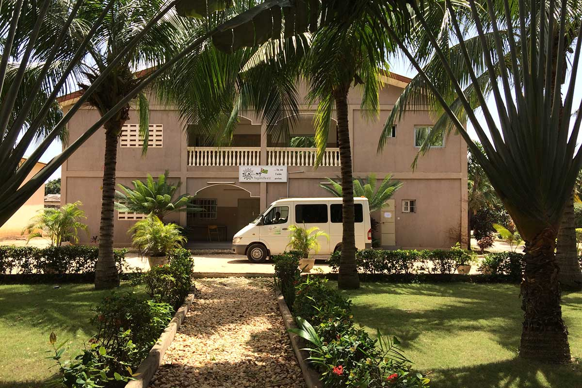 Das Haus von Aktion PiT - Togohilfe in Lomé