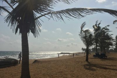 Am Strand in Togo