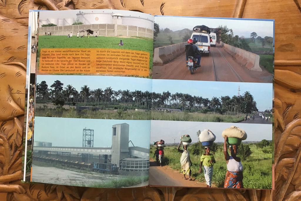 Bildband Togo - Inhalt