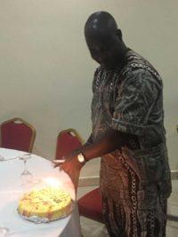 Ousmane hat Geburtstag