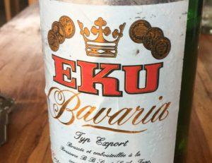 EKU-Bavaria - ein gutes Bier in Togo. Es gibt aber noch viele weitere Sorten.