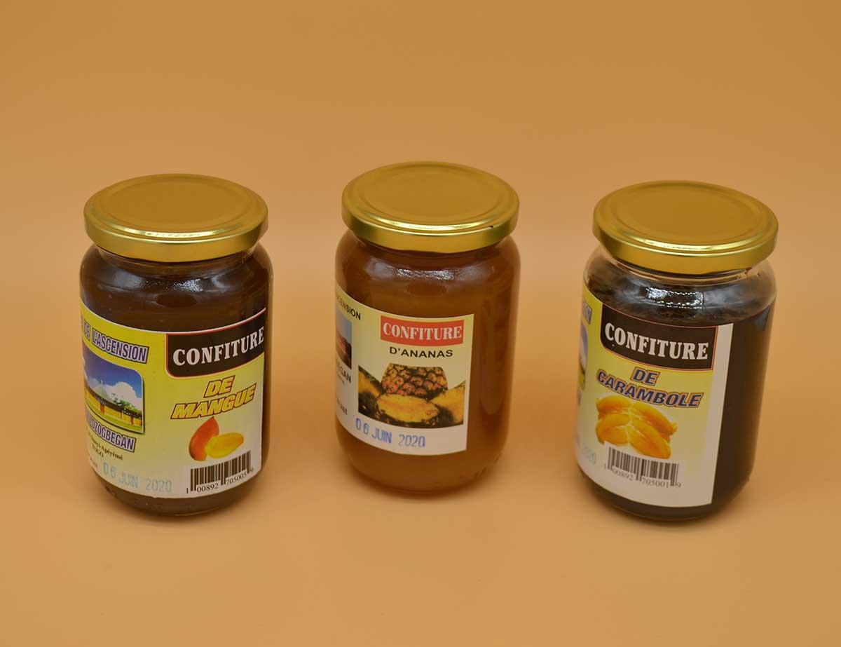 Drei neue Marmeladen im Sortiment: Mango, Ananas und Sternfruch