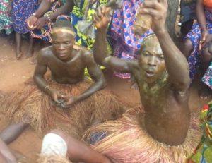 Voodoo-Zeremonie in Totzi