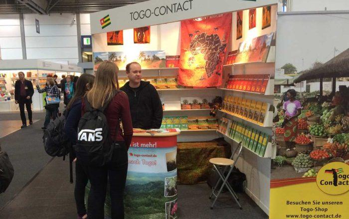 Togo-Contact auf der Leipziger Buchmesse