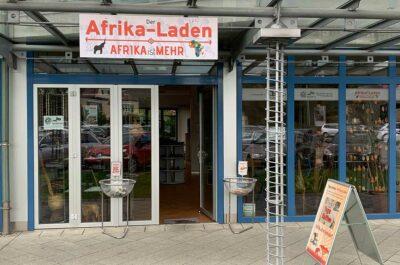 Der Afrika-Laden von außen